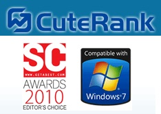 CuteRank – FREE keyword rank checker software