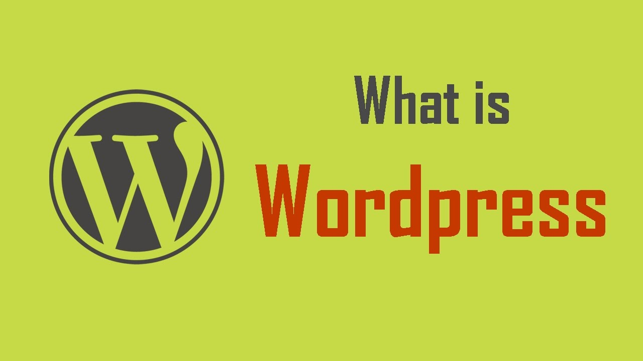 What is WordPress & What is CMS?