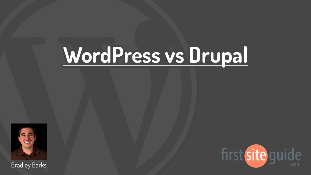 WordPress vs Drupal CMS Comparison