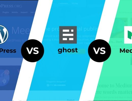 WordPress vs Ghost vs Medium – BEST Blogging Platform for You