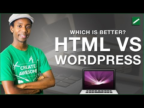 Web Design HTML vs WordPress Which is Better? What Is WordPress CMS Development