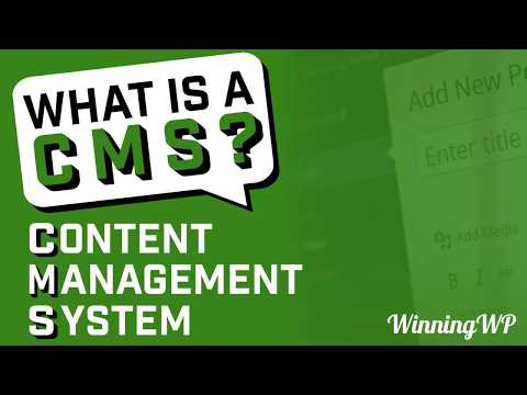 What is a CMS (Content Management System)? What Is WordPress CMS Platform