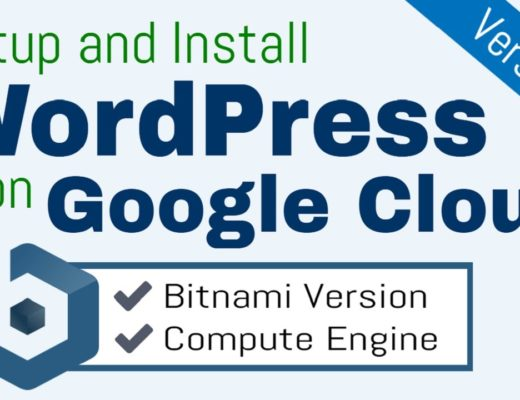 Setup and Install WordPress on Google Cloud Platform (Bitnami)
