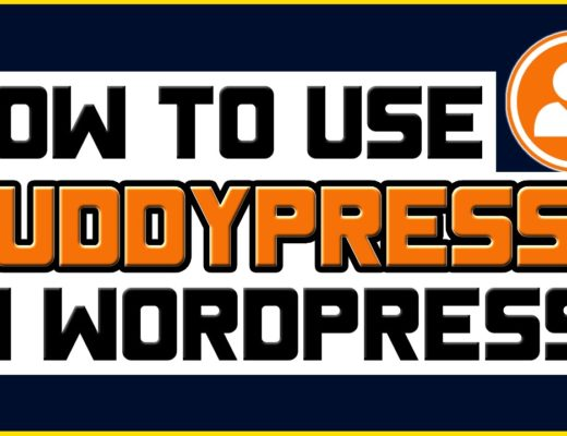 How To Use BuddyPress In WordPress –  Installation & Setup Tutorial