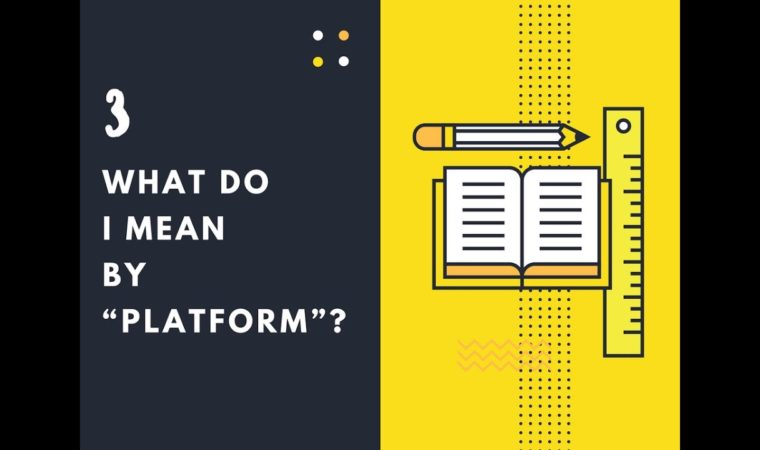 """What do I mean by """"platform""""? – Content Management System(CMS)"""