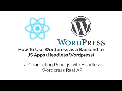 Connecting React.js with Headless WordPress Rest API How WordPress CMS Works