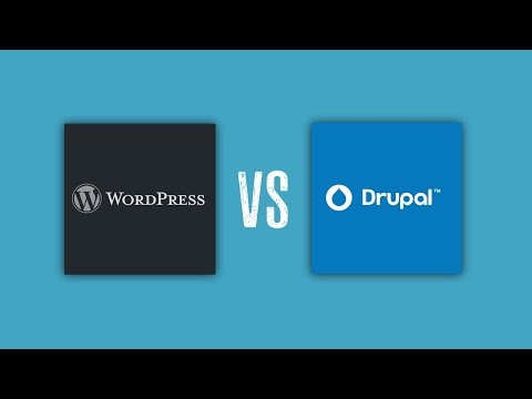 Drupal vs WordPress - Which is the best CMS? What CMS WordPress