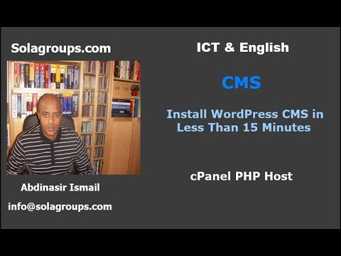 How to Install CMS WordPress less than 15 Minutes? What CMS WordPress