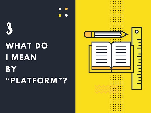 """What do I mean by """"platform""""? - Content Management System(CMS) What Is WordPress CMS Platform"""
