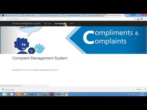 complaint management system- CMS  PHP Project(Free Download) What Is WordPress CMS PPT