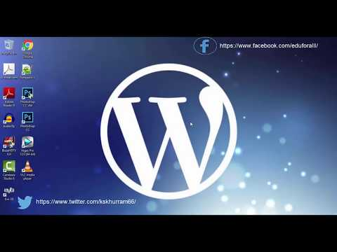 introducation to wordpress tutorial for beginners step by step in hindi urdu part 1 What Is WordPress CMS PPT