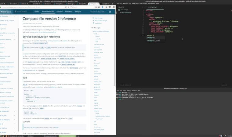 Introduction to CMS with Docker – WordPress, Drupal, Ghost, and Grav Local Development