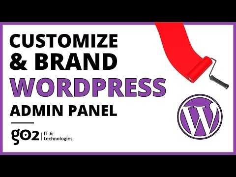 Customize WordPress Admin Panel and login page for Clients What Is WordPress CMS Development