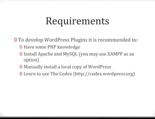 Clip WordPress Plugin Development Tutorial 1   Introduction and Requirements by QT CMS