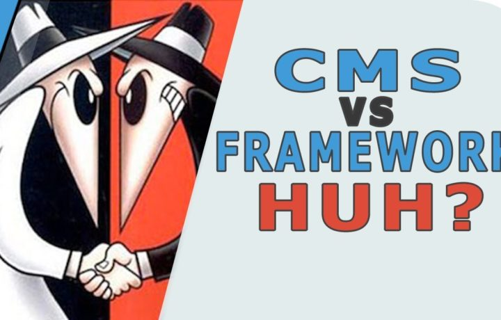 Confused, What is a CMS or Framework? || CMS vs Framework Difference