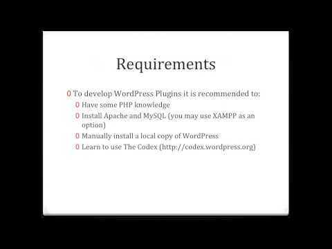 Clip WordPress Plugin Development Tutorial 1   Introduction and Requirements by QT CMS What Is WordPress CMS Development