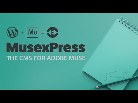 [LEGACY] How to install MusexPress CMS | Adobe Muse and WordPress What CMS WordPress