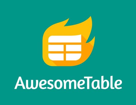 Awesome Table – Build Web Apps from Spreadsheets