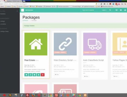 How to install Subrion CMS on XAMPP environment