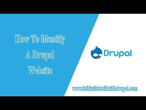 How To Check A Website Using Drupal CMS ✪ Is This Site Built With Drupal