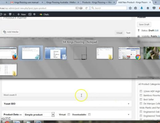 CMS : How to upload products in a eCommerce WordPress website 2