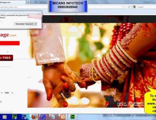 ONLINE MATRIMONIAL SYSTEM – PHP