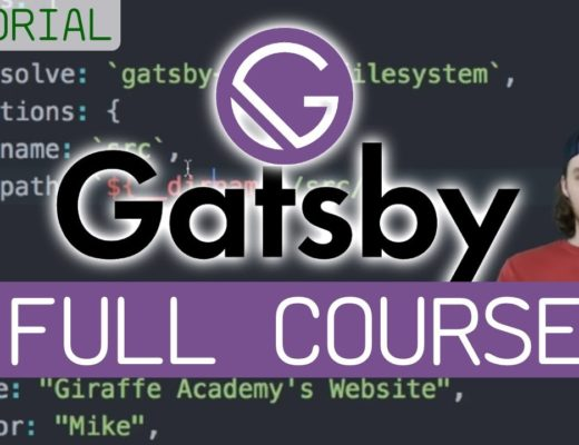 Gatsby – Full Tutorial for Beginners