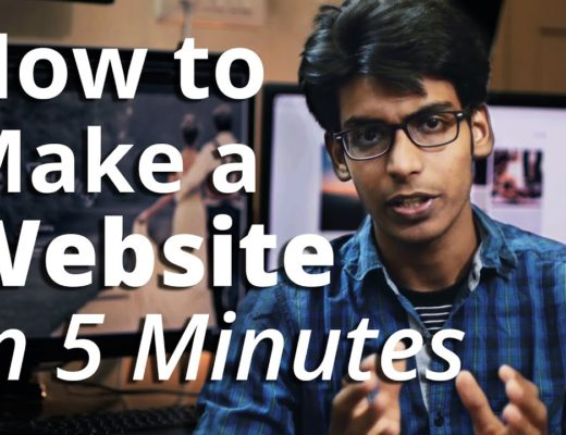 How to Create A Website – in 5 Mins – with WordPress