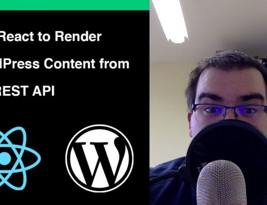 Using React to render WordPress Content from REST API