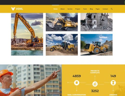 Veril Construction and Industrial Joomla | CMS Themes | ThemeForest 23115181