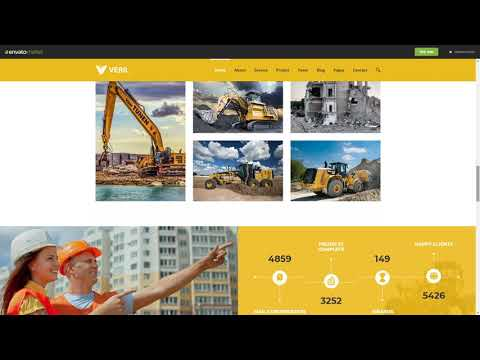 Veril Construction and Industrial Joomla   CMS Themes   ThemeForest 23115181 What Is WordPress CMS Platform