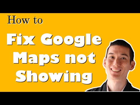 How to Fix Issue with Google Maps Not Showing How WordPress CMS Works