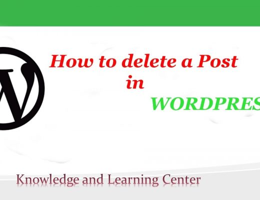 How to Delete a Post in WordPress CMS
