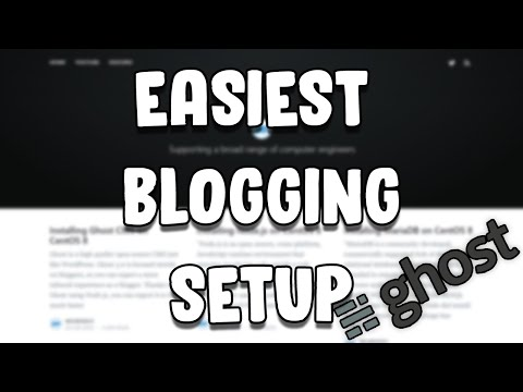 Installing Ghost CMS For Blogging on CentOS 8 How WordPress CMS Works