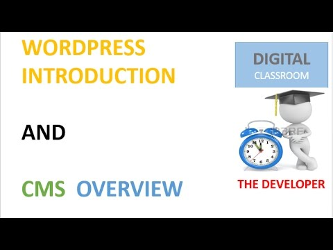 WORDPRES INTRO AND CMS OVERVIEW 2017: wordpress design tutorial