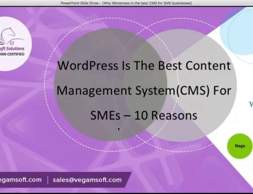 WordPress Is The Best Content Management System(CMS) For SME Businesses – 10 Reasons