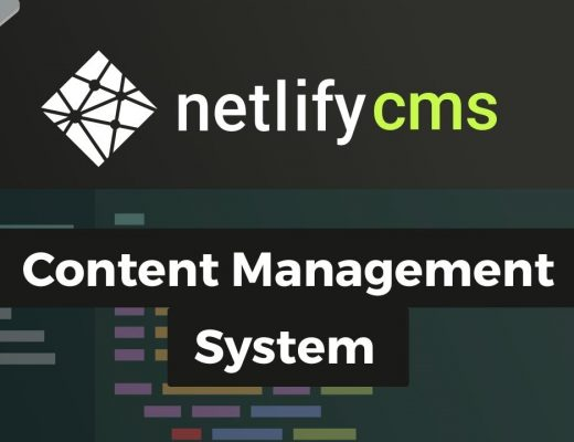Netlify CMS – Content Management System (using Gridsome)