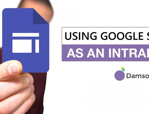 Google Sites: Did you know you can use them as an Intranet solution?