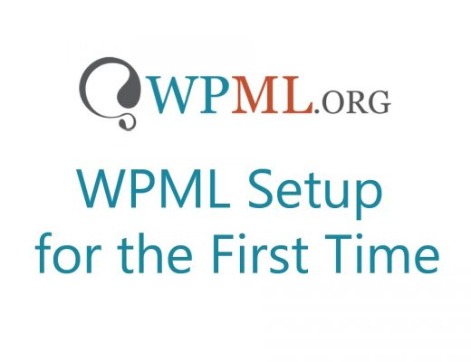 WPML Setup for the First Time