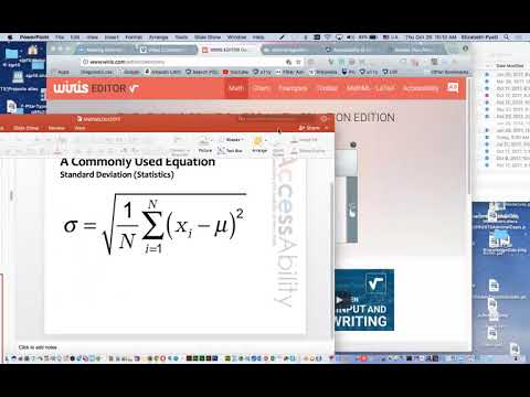 MathML and LaTeX Workflow